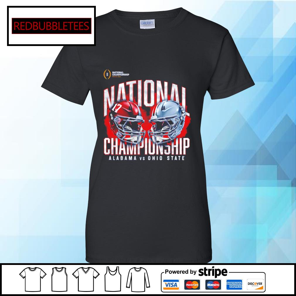 National championship Miami 2021 National championship Alabama 52 24 Ohio State s Ladies tee