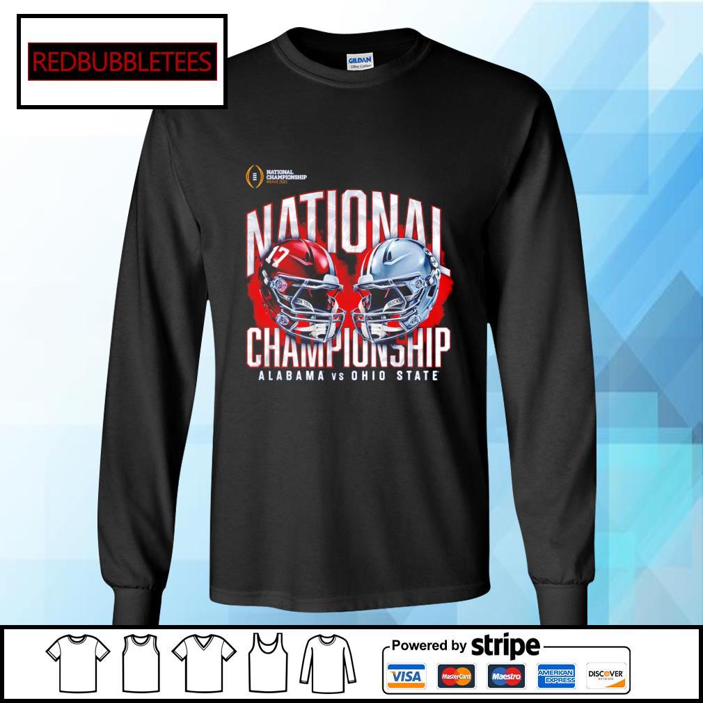 National championship Miami 2021 National championship Alabama 52 24 Ohio State s Longsleeve-tee