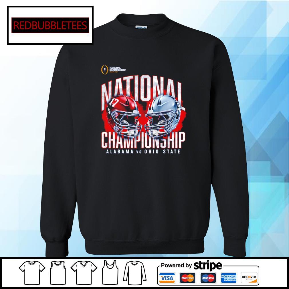 National championship Miami 2021 National championship Alabama 52 24 Ohio State s Sweater