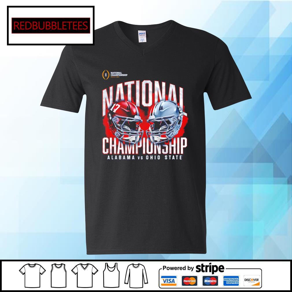 National championship Miami 2021 National championship Alabama 52 24 Ohio State s V-neck T-shirt