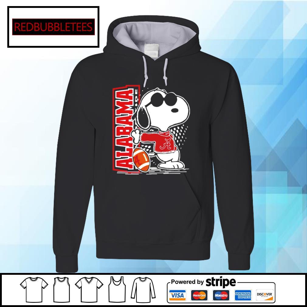 Snoopy Alabama Crimson Tide 52 24 Ohio State NCAA Shirt Hoodie