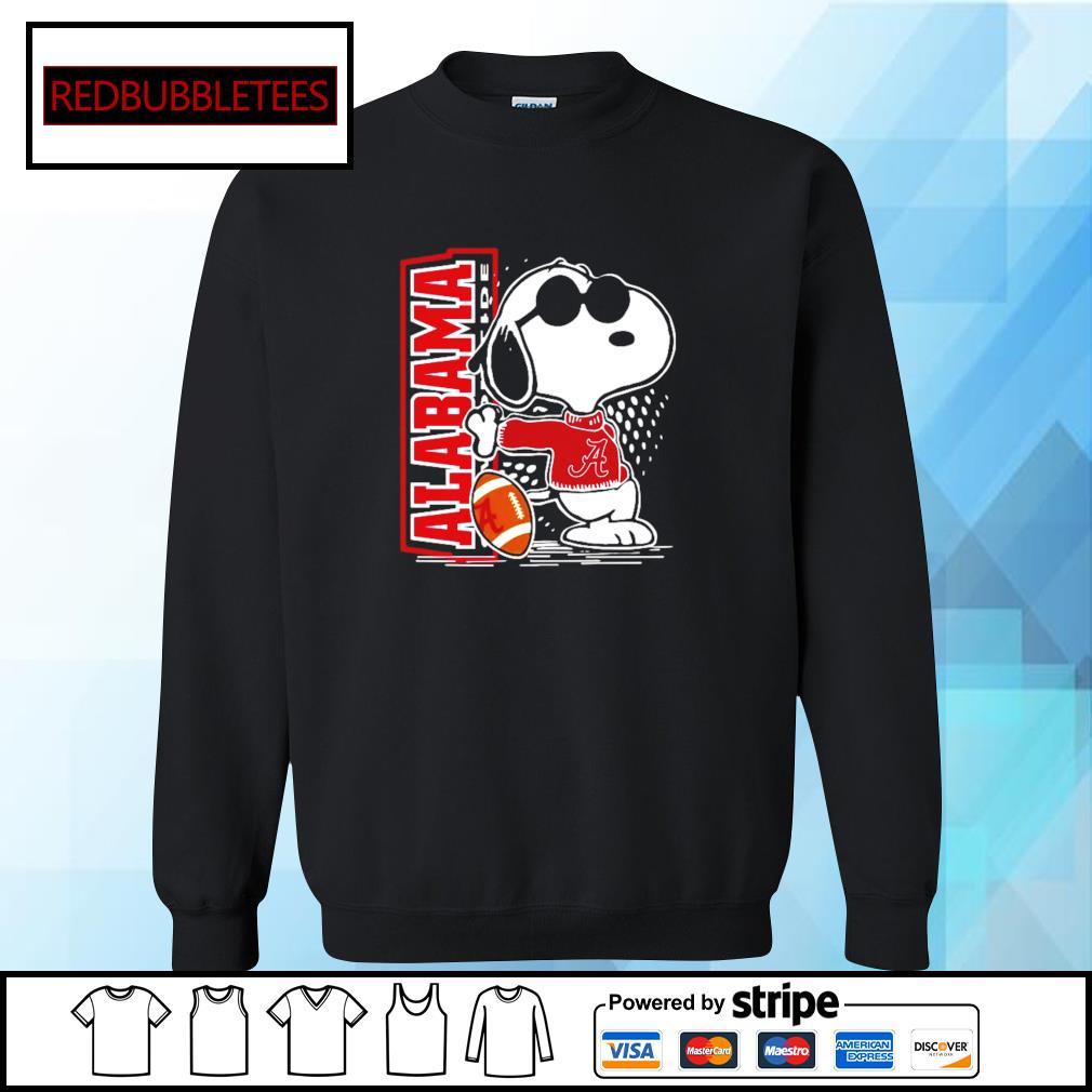 Snoopy Alabama Crimson Tide 52 24 Ohio State NCAA Shirt Sweater
