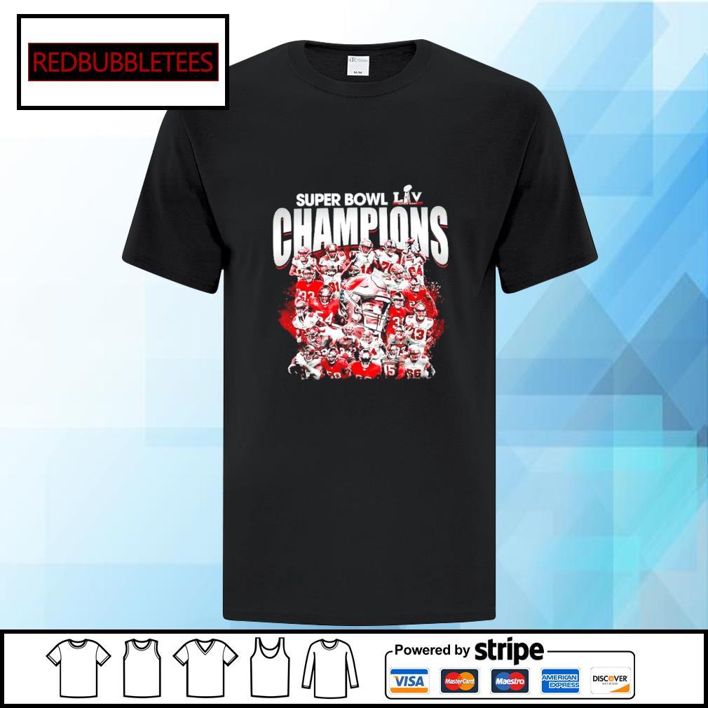 Tampa Bay Buccaneers Super Bowl champions shirt