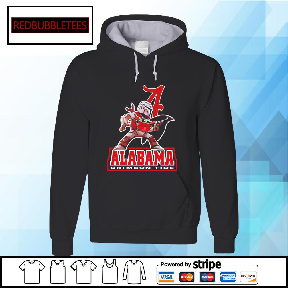 The Mandalorian & Baby Yoda Alabama Crimson Tide NCAA Alabama 52 24 Ohio State Shirt Hoodie