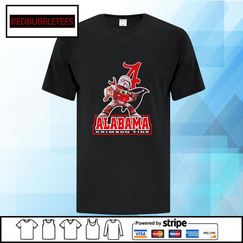 The Mandalorian & Baby Yoda Alabama Crimson Tide NCAA Alabama 52 24 Ohio State Shirt