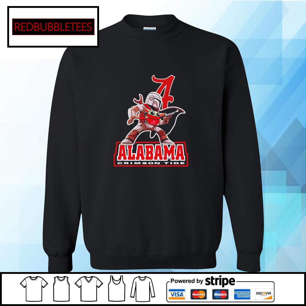 The Mandalorian & Baby Yoda Alabama Crimson Tide NCAA Alabama 52 24 Ohio State Shirt Sweater