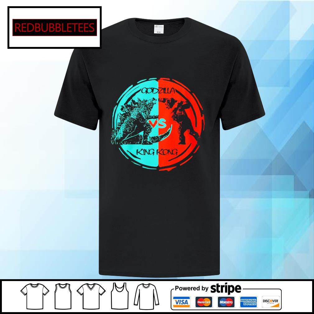 Godzilla vs King Kong shirt