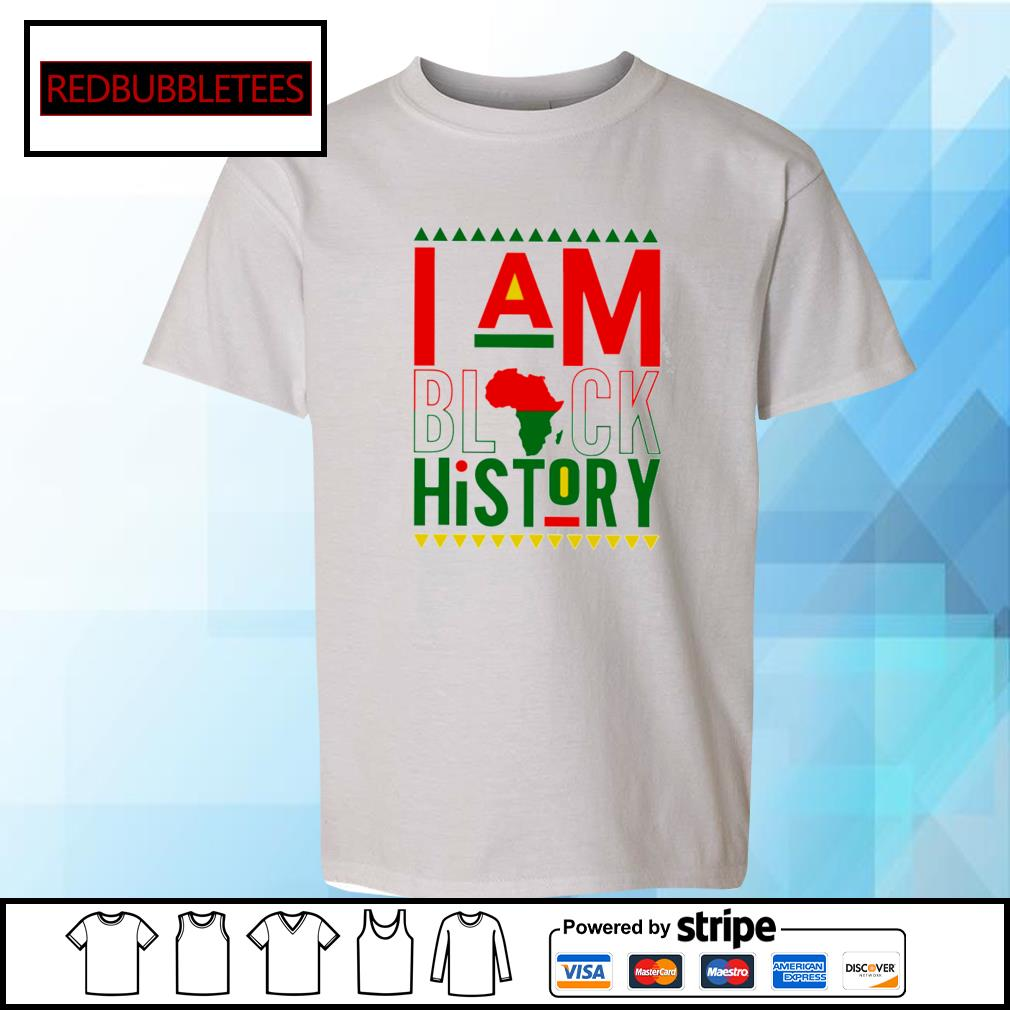 I Am Black History Shirt Youth-tee