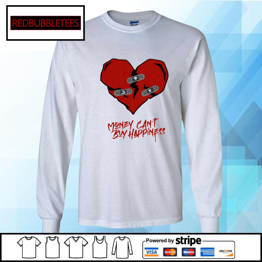 Money Can't Buy Happiness s Longsleeve-tee