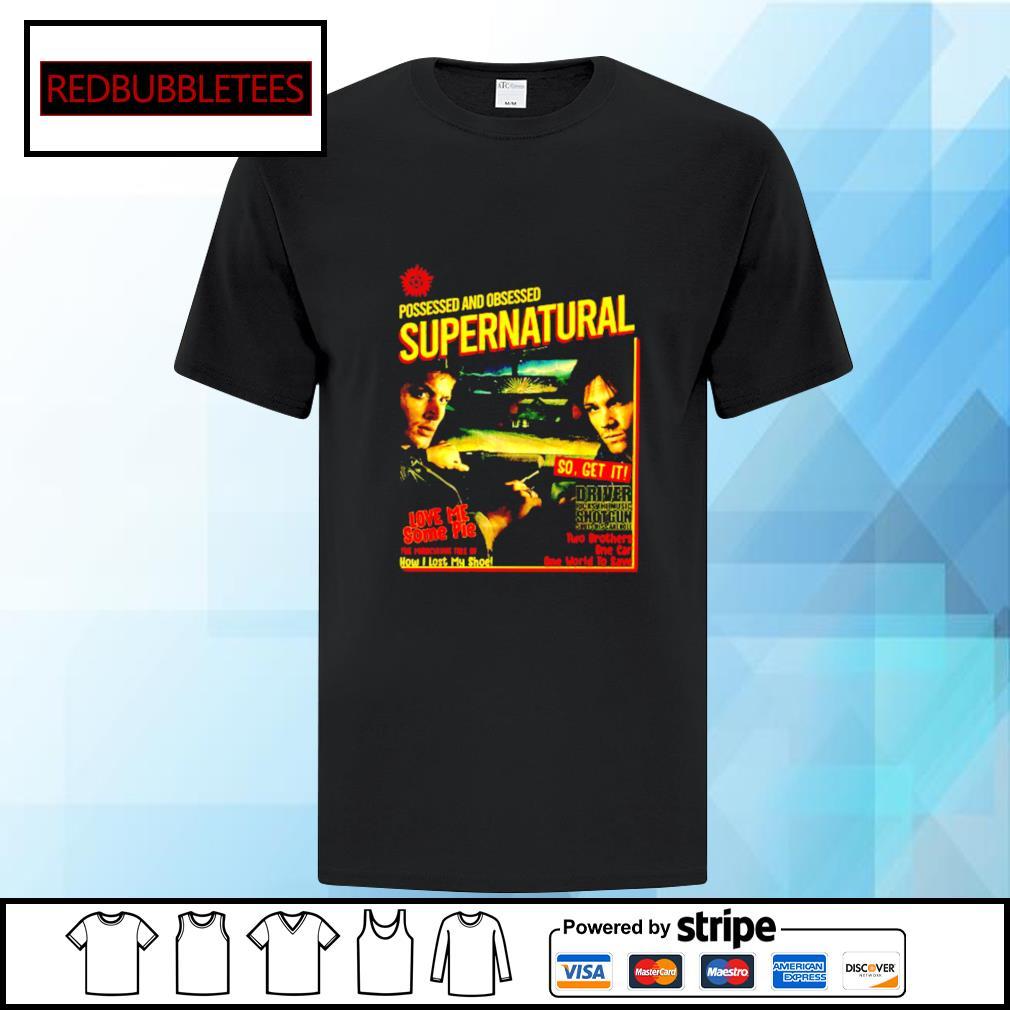 Possessed And Obsessed Supernatural Driver Picks The Music Shotgun shirt