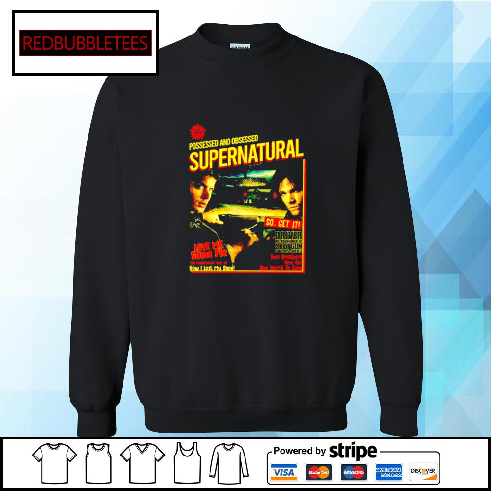 Possessed And Obsessed Supernatural Driver Picks The Music Shotgun s Sweater