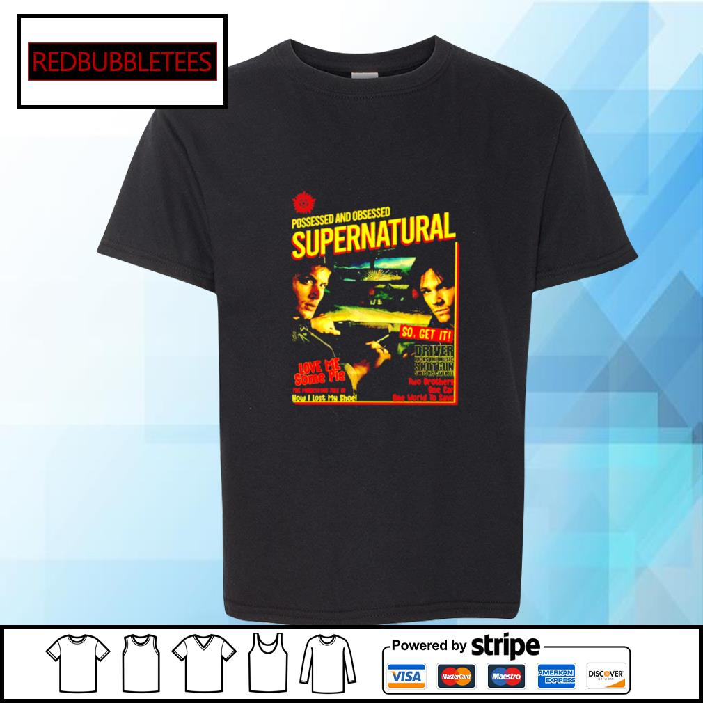 Possessed And Obsessed Supernatural Driver Picks The Music Shotgun s Youth-tee